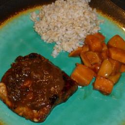 Ginger Honey Glazed Mahi Mahi