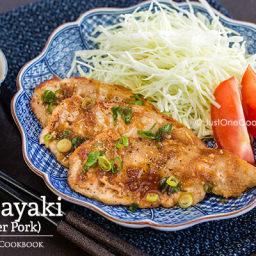 Ginger Pork (Shogayaki)