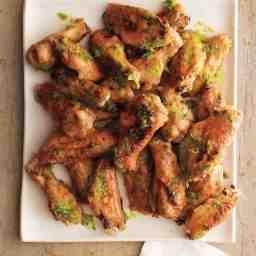 Ginger Scallion Chicken Wings