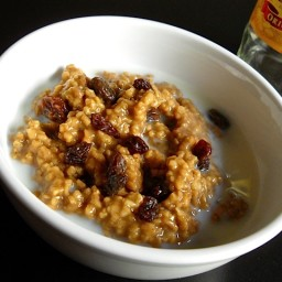 gingerbread steel-cut oats