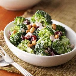 Gingered Lemon Broccoli Salad