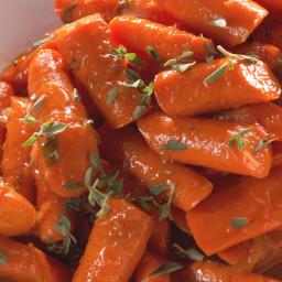 Glazed Carrots with Marjoram