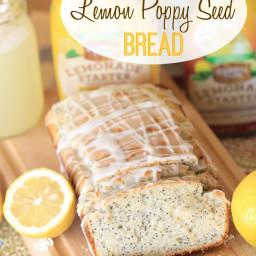 Glazed Lemon Poppy Seed Bread