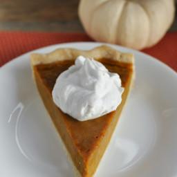Gluten and Dairy Free Maple Pumpkin Pie