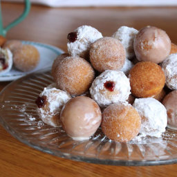 Gluten-Free Doughnut Bites