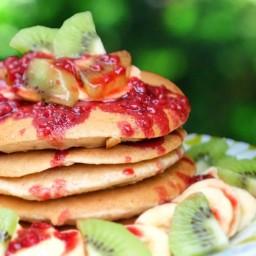 Gluten Free Oat Pancakes