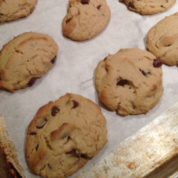 Gluten-free peanut butter chocolate chip cookies