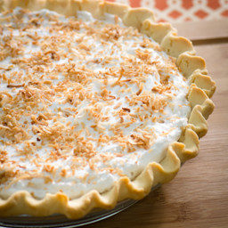 Gluten Free Vegan Coconut Cream Pie
