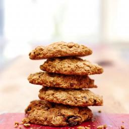 Gluten-free oat & raisin cookies