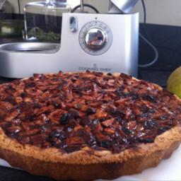 Glutenfree open Apple pie