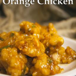Gluten Free Orange Chicken Recipe