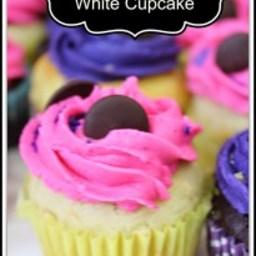 Gluten Free White Cupcakes