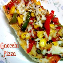Gnocchi Pizza with Indian Twist