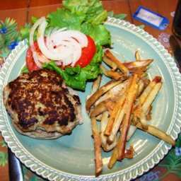 Goat Cheese Turkey Burger