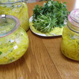 Golden Beet Sauerkraut