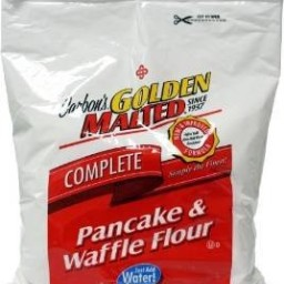 Golden Malted Pancake & Waffle Flour Mix, Complete - Just Add Water (RAR)