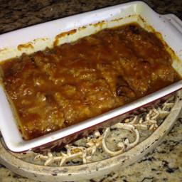Golden Mushroom Meat Loaf