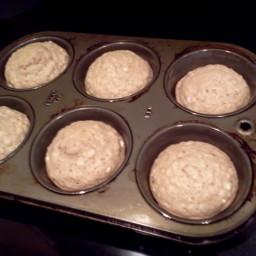 Golden Oatmeal Muffins