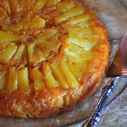 Golden Pear Cake