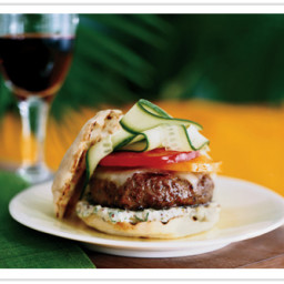 Gorgonzola Cheeseburgers with Pancetta