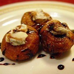 Gorgonzola Stuffed Dried Figs