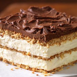 Graham Cracker Eclair Cake