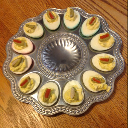 Grams Deviled Eggs