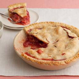 Grandma's Strawberry-Rhubarb Pie