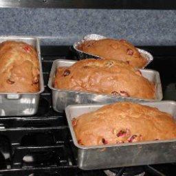 Grandmothers Cranberry Bread