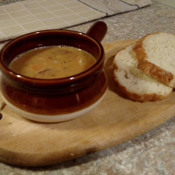 Great Kielbasa Northern Bean Soup