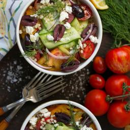 Greek Couscous Bowls