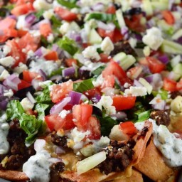 Greek Gyro Nachos