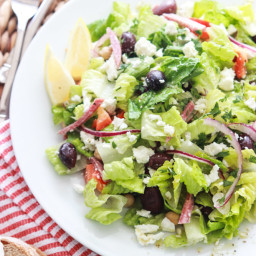 Greek Italian Chopped Salad