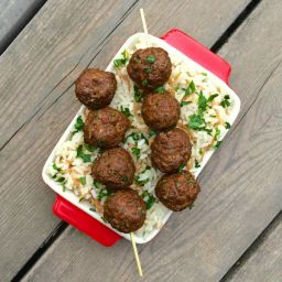 Greek Meatballs Recipe {Gluten Free}