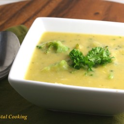 Green and Gold Broccoli Chowder