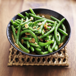 Green Bean Salad With Almonds
