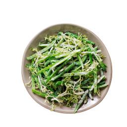 Green Bean Salad with Creme Fraiche