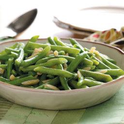 Green Beans Amandine Recipe