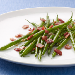 Green Beans & Turkey Bacon