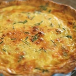 Green Chili Quiche