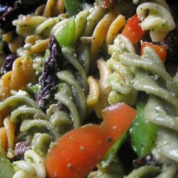 Green Pasta Salad - something everyone will love