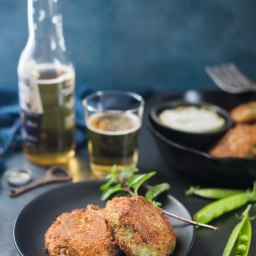 Green Pea And Mint Croquettes
