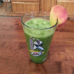 Green Smoothie 6 ( The peachy Keen )
