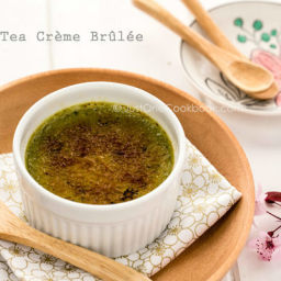 Green Tea Crème Brûlée
