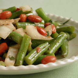 Green Bean Salad with Vidalia Onion and Mint