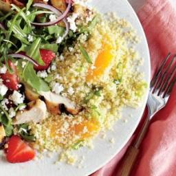 Green Onion and Orange Couscous