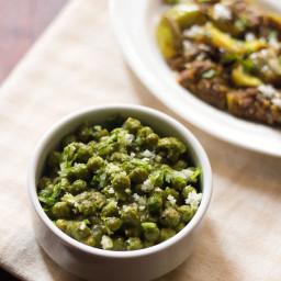 green peas usal or matar usal recipe