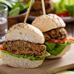Grilled Bean Burger