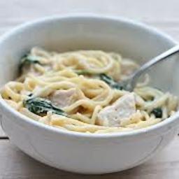 Grilled Chicken Florentine Pasta - BigOven