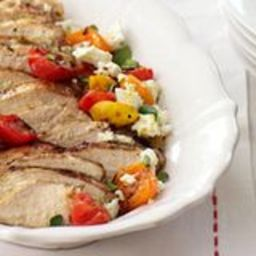 Grilled Chicken with Greek Flavors